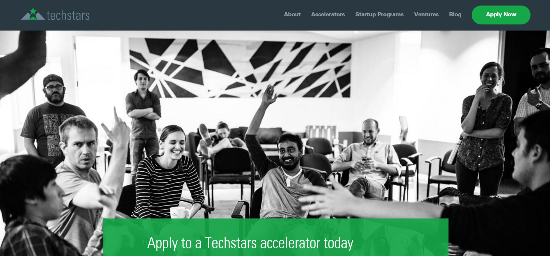▲ Techstars Website (출처: Techsatars website)