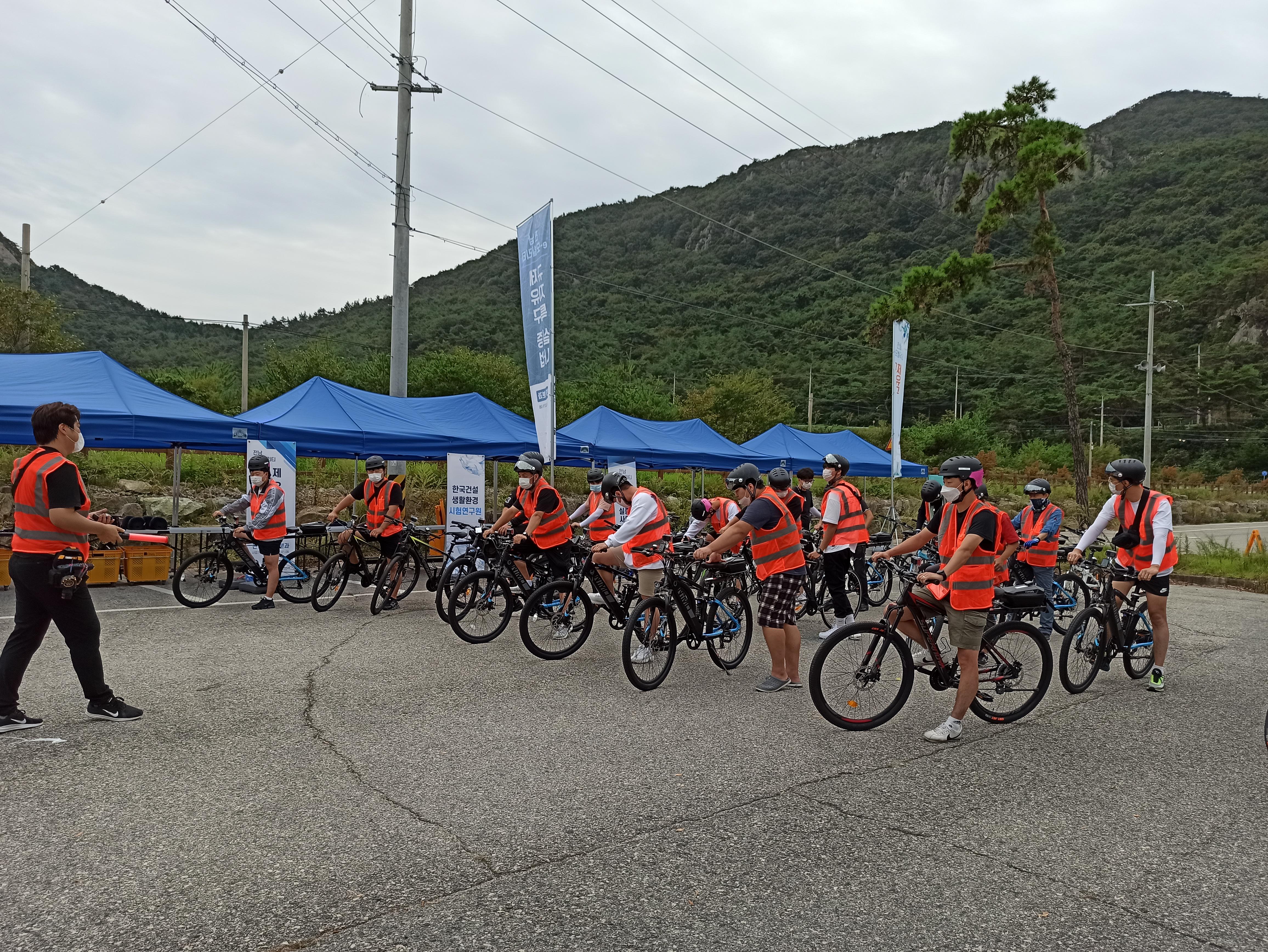 (영광 규제 자유 특구 전기자전거 주행 실증을 통해 스로틀을 장착한 전기자전거도 자전거도로 진입이 가능해졌다, 출처 : 모토벨로)